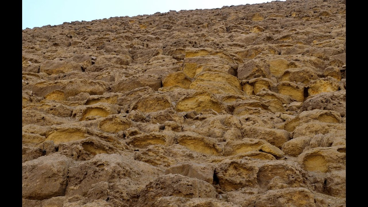 RED PYRAMID EROSION - old video Worth Watching