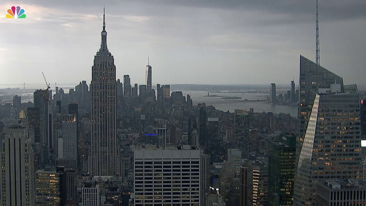 Severe Weather in NYC: Watch Barry's Remnants Blow into NYC in 3 Minutes   Storm Team 4