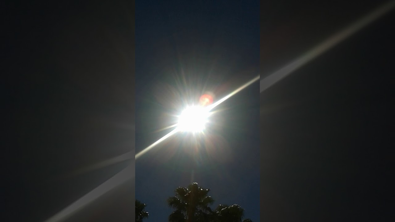 Electric discharge of the sun today mesa Az..., download n share away
