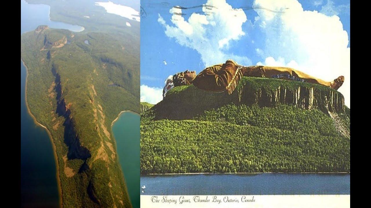 Mud Fossil Mythos ~ Legend of the Sleeping Giant & Whiteman