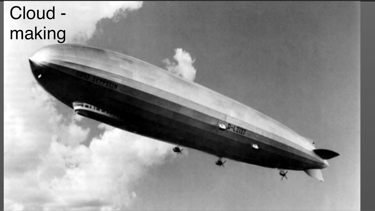 Giant Cloaked Zeppelins | UAP
