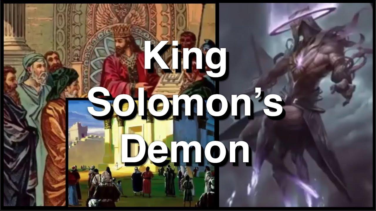 King Solomon's Demon - Shooting Stars Are Demons (Baraq) The Apocrypha