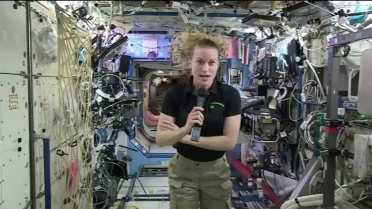 FLAT EARTH BRITISH Filtered ,NASA ISS LIVE What Did She Just Say?