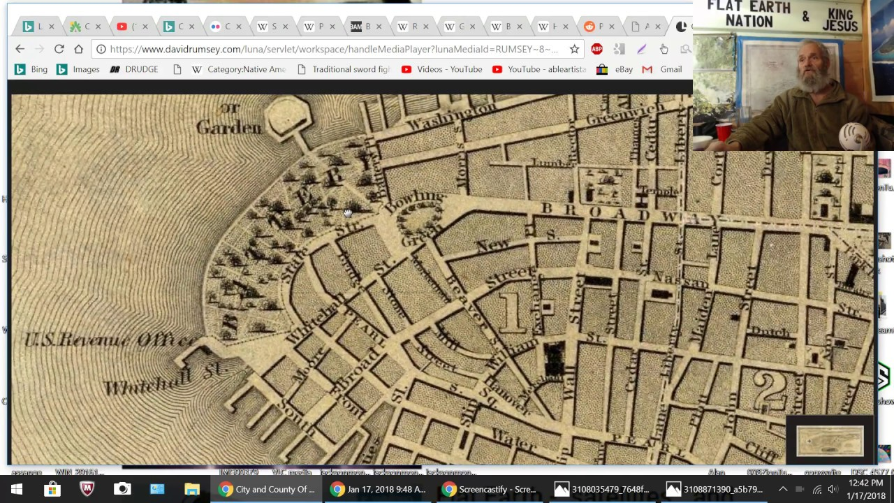 New York City is A HISTORY HOAX--Star Forts BUILT in 1830?? FENDAP Proves