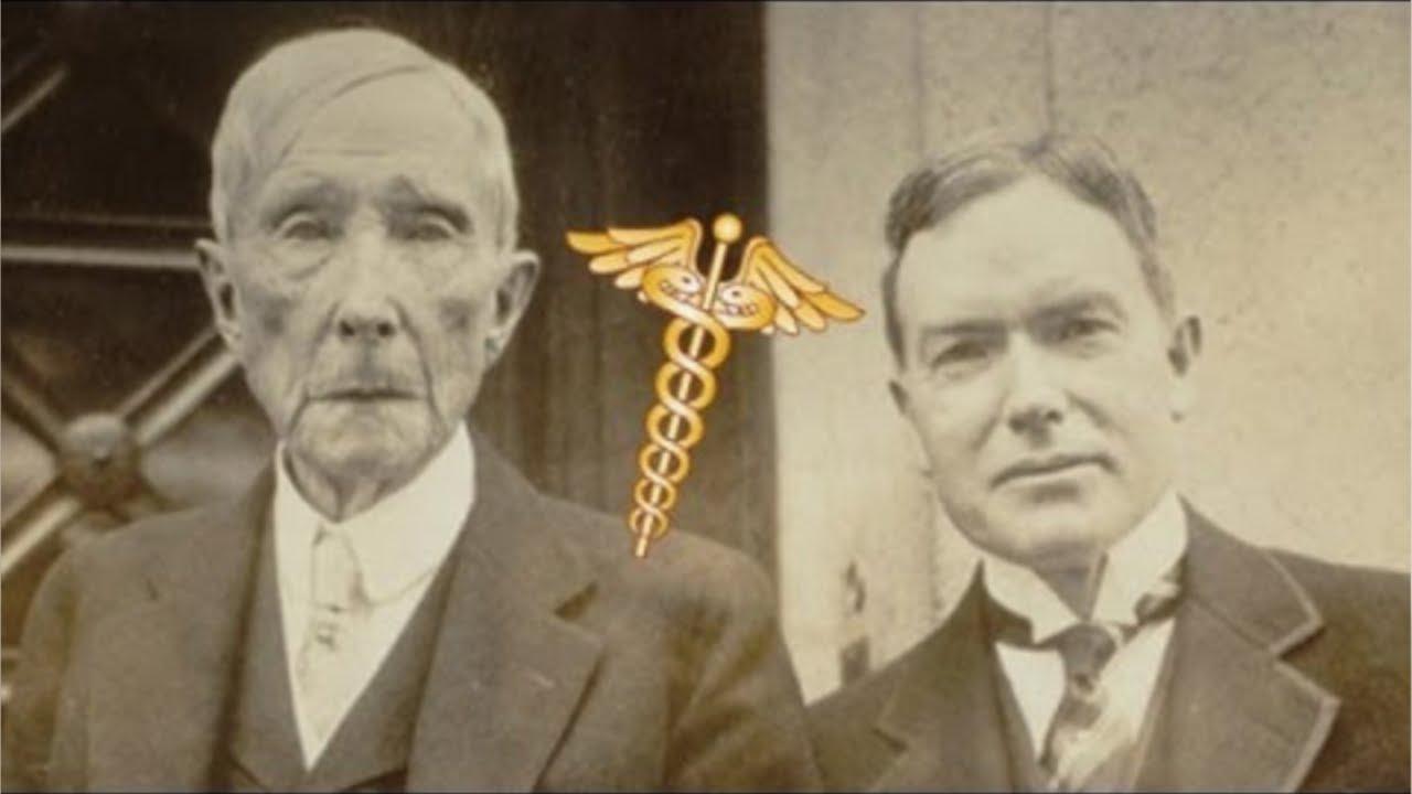 Rockefeller Preferred Homeopathic Treatment NOT Allopathic Rockefeller Medicine Poison