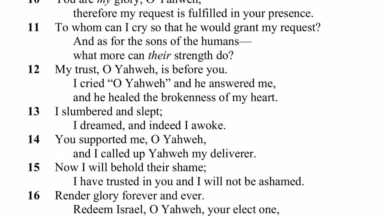 The Lost Psalms Of King David And Solomon (Ps. 151 - 155)