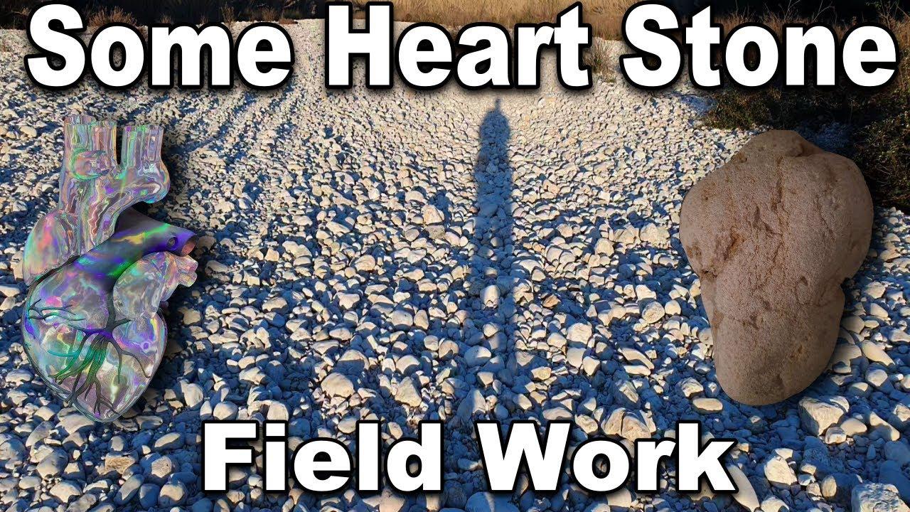 Some Heart Stone 'Field' Work